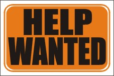 help wanted, help wanted sign
