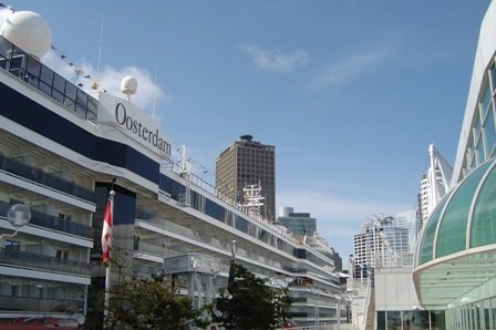 oosterdam, canada place