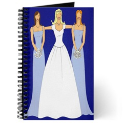 bridal shower, bridal shower booklet, brides, bridal parties