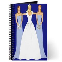 bridal shower, bridal shower booklet, brides, bridal parties