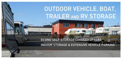Econo Self Storage Units in Surrey & Langley, BC