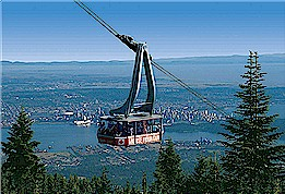 grouse mountain skyride, skyride, grouse mountain