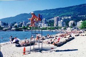 vancouver beaches, kitsilano beaches, beaches in vancouver