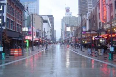 Granville street.
