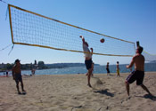 volleyball, vancouver beaches