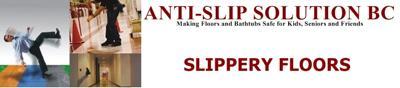 anti-slip floors