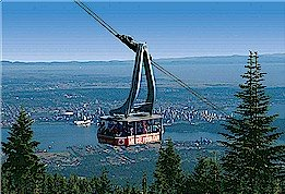 grouse mountain skyride, skyride, grouse mountain
