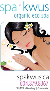 Vancouver's Only Award Winning Organic Eco Spa